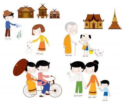 Lebensstil Asien