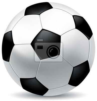 Leder-Fußball