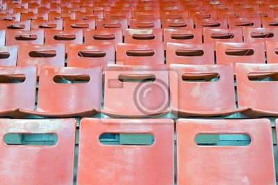 Leere Stadionsitze
