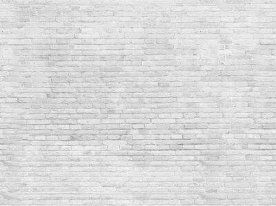 Fototapete Leere Teil der weiß lackierten Mauer.