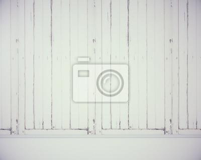 Leere Weisse Holzwand Fototapete Fototapeten Appartment Verspotten