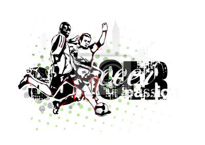Leidenschaft des Fußballs