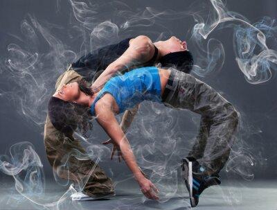 Fototapete Leidenschaft Tanzpaar.