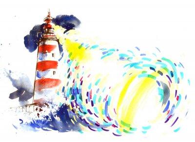 Fototapete Leuchtturm