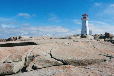 Fototapete Leuchtturm in Peggy's Cove