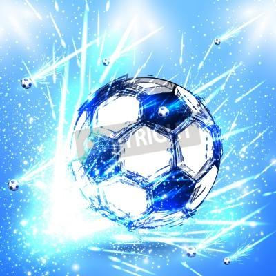 Fototapete Licht Fußballstadium
