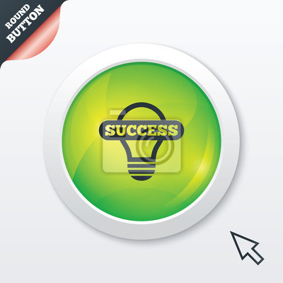 Licht lampe symbol. lampe mit symbol fototapete • fototapeten App ...
