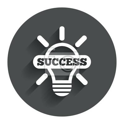Lichtlampe symbol. lampe mit symbol fototapete • fototapeten App ...