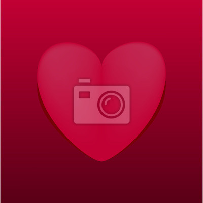 Liebe Einladungskarte Valentinstag Fototapete Fototapeten Nubes