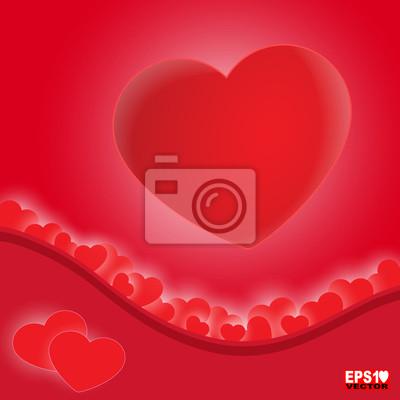 Liebe Vektor Hintergrund