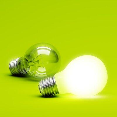 Fototapete Light Bulb
