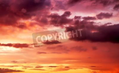 Fototapete Lila Sonnenuntergang Himmel