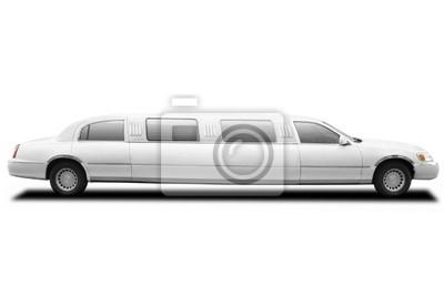 Limousine mit Beschneidungspfad