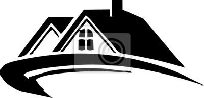 Line art - Immobilien für Ikone