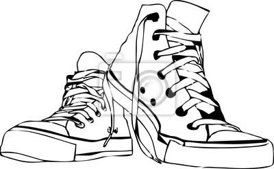 line art - Schuhe