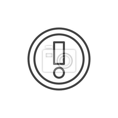 Lineare stil zeichen für mobile konzept und webdesign. symbol ...
