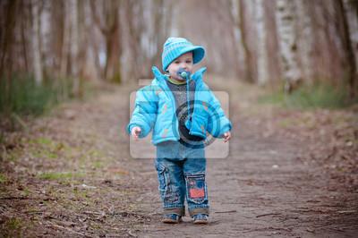 Little Boy Modeling und Posing