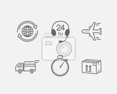 Logistik-Symbol