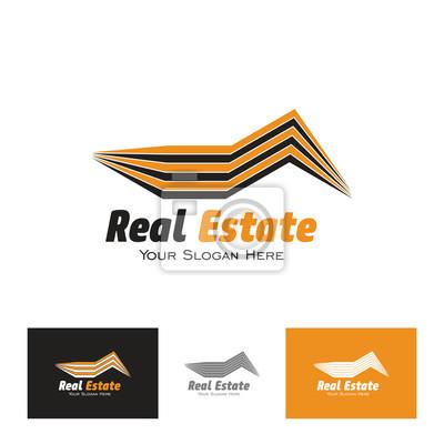 Logo vorlage immobilien, wohnung, wohnung, haus, miete, geschäft ...
