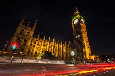 Fototapete London Big Ben in der Nacht