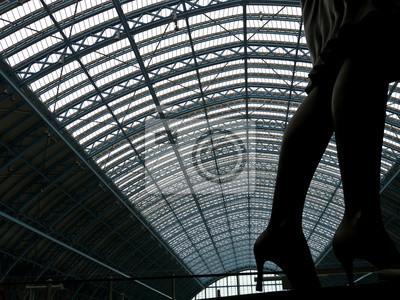 London St. Pancras Station entfernt
