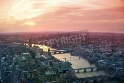 Fototapete LONDON, UK - 15. APRIL: 2015: City of London Geschäfts-und Finanzmarktsicht