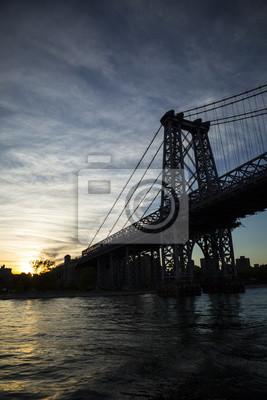 Low Angle View Von Williamsburg-Brücke