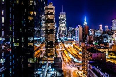 Fototapete Luces de Nueva York