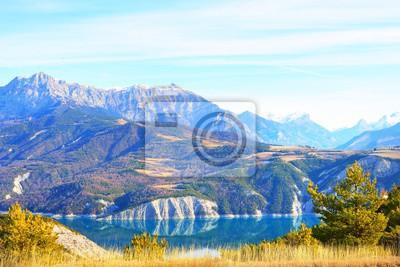 Lac Serre Poncon : Photos du jour autour du lac de serre ponçon hautes alpes