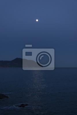 Luna Sul Mare Fototapete Fototapeten Myloviewde