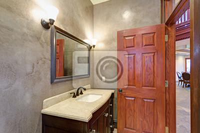 Luxury mansion innenausstattung neues badezimmer fototapete ...