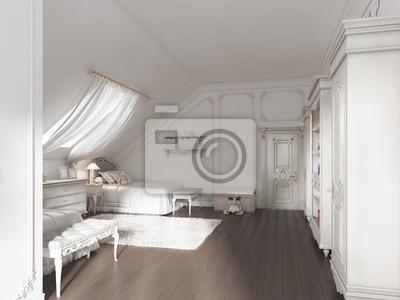 Luxus Kinderzimmer Fur Zwei Kinder In Art Deco Stil Fototapete
