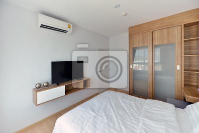 Fototapete Luxus Modern Schlafzimmer Innenraum Und Dekoration,  Innenarchitektur