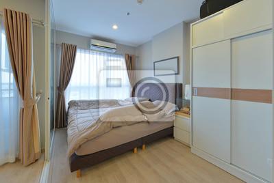 Luxus modernes schlafzimmer interieur und dekoration ...