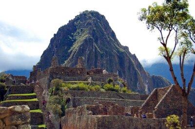 Fototapete Machu Picchu and Huayna Picchu
