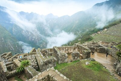 Fototapete Machu Picchu, ein UNESCO Weltkulturerbe