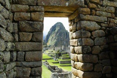 Fototapete Machu Picchu - Peru
