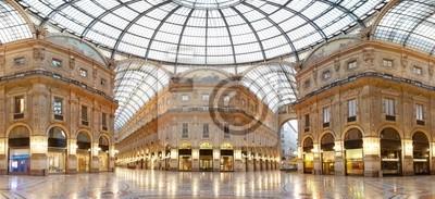 Mailand, Vittorio Emanuele II Galerie, Italien