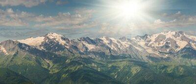 Fototapete Majestätische Berge