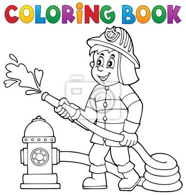 Ungewöhnlich Kostenlose Malbücher Zum Thema Brandschutz Bilder ...