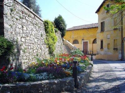 Fototapete Malerischen Streen in Italien