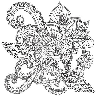 Wunderbar Henna Hand Malvorlagen Fotos - Ideen färben - blsbooks.com