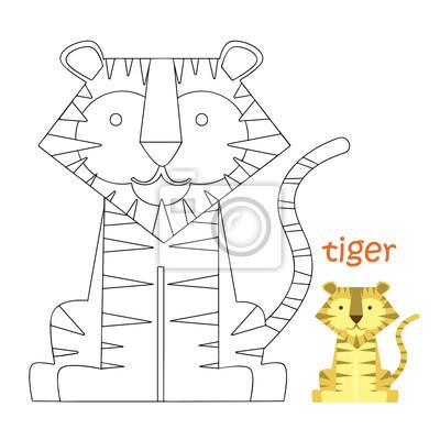 Malvorlagen Kinder Tiger Fototapete Fototapeten Farben