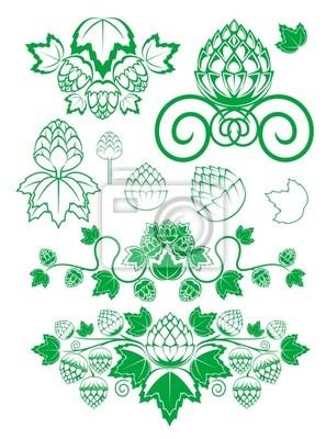 Malz und Hopfen Blätter