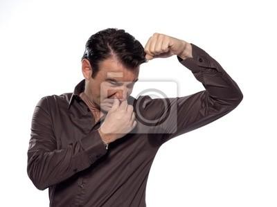 Man Portrait sweat schwitzen