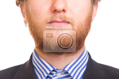 Man With Full Red Beard