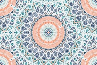 Fototapete Mandala Nahtlose Muster