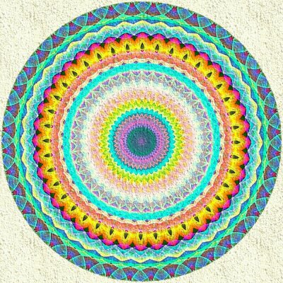Fototapete Mandala-Verzierung