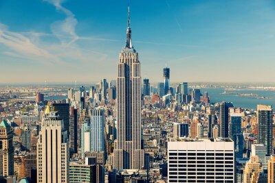 Fototapete Manhattan Luftbild