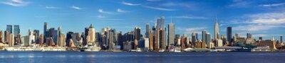 Fototapete Manhattan Skyline Panorama, New York City